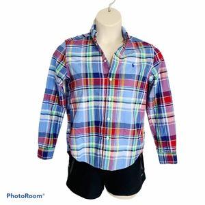 Womens Ralph Lauren Button Down Shirt *